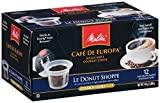 Melitta Single Cup Coffee for K-Cup Brewers, Cafe de Europa Blanc et Noir, Light and Dark Roast, 12 Count
