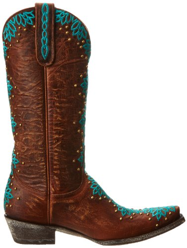 Old Gringo Womens Tatum Western Boot In Ottone / Turchese