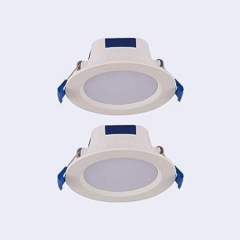 Sunny Lingt 2X LED Downlights aptos for incendios Luces de techo ...