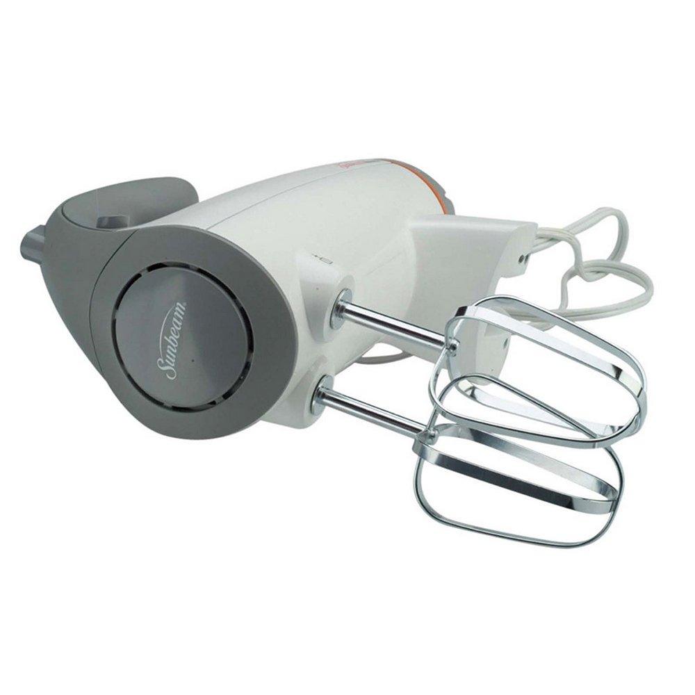 Sunbeam FPSBSMGLW White 12 Variable Speed 350 Watt Stand Mixer With Glass Bowl