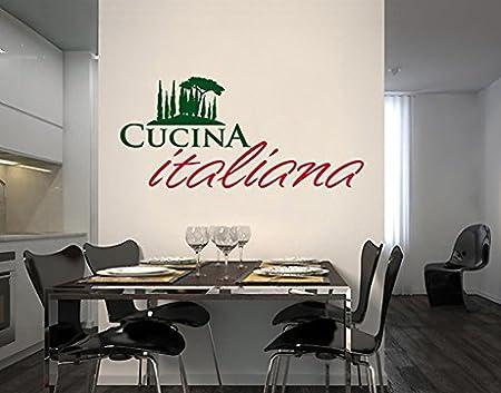 Wall Decal no.SF507 Cucina Italiania, wall tattoo, wall stickers ...