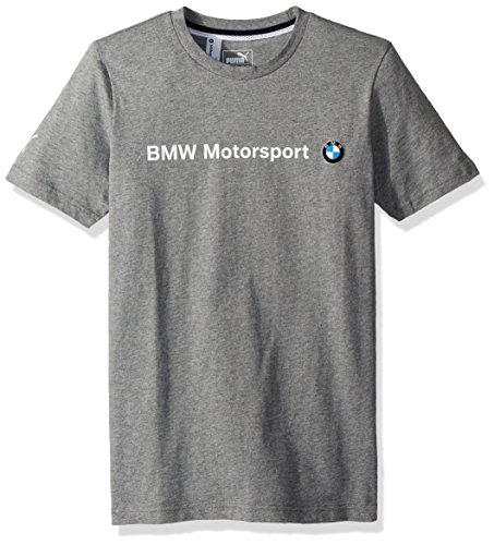 - PUMA Men's BMW Motorsport Logo T-Shirt, Medium Gray Heather, S