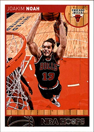 2013-14 NBA Hoops #81 Joakim Noah Chicago Bulls Official Basketball Card made by Panini ()