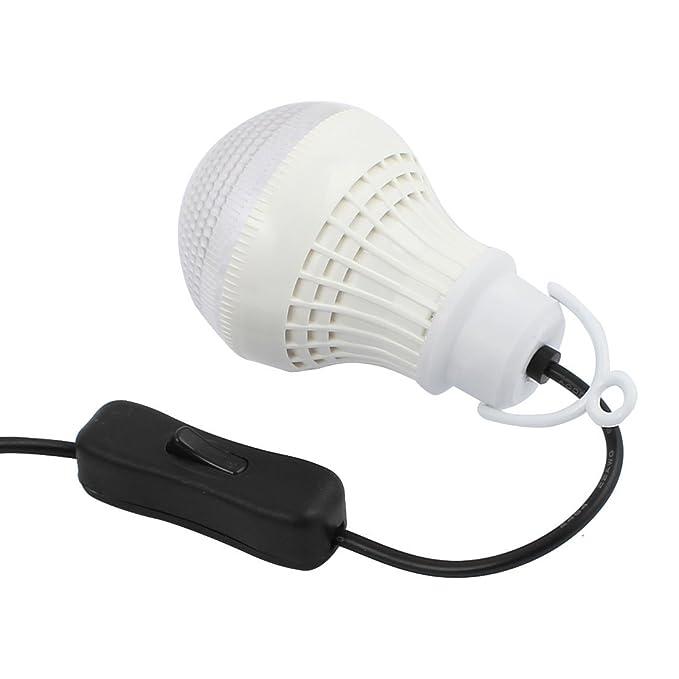 eDealMax panel solar al aire libre Desarrollado 2 Bombilla LED lámpara portátil campo de la tienda gancho de la luz Pesca - - Amazon.com