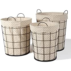 3 of Joveco Multi-purpose Tall Circular Baskets Home Decor