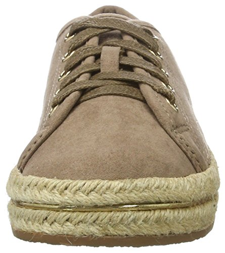 XTI Damen Taupe Microfiber Ladies Shoes Sneaker Braun (Taupe)