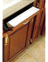 Rev A Shelf 2 Piece 6581 Sink Front Tray, Standard, White