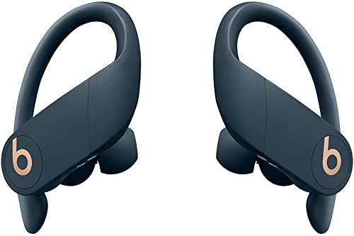 Powerbeats Pro Totally Wireless High-Performance Bluetooth Earphones – Navy Renewed