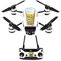 Skin for DJI Spark Mini Drone Combo - Beer Lover| MightySkins Protective, Durable, and Unique Vinyl Decal wrap cover | Easy To Apply, Remove, and Change Styles | Made in the USA