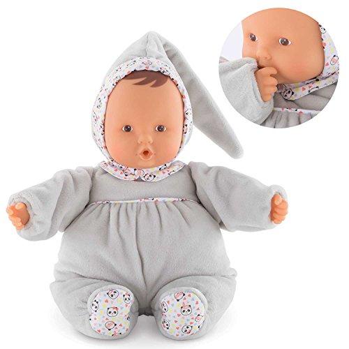 Corolle mon doudou Babipouce Happy Panda Toy Baby Doll, Pink ()