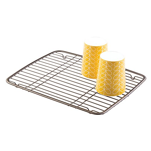 mDesign Kitchen Sink Protector Grid