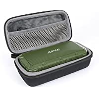 Hard Travel Case for APIE Portable Wireless Outdoor Bluetooth Speaker IPX6 Waterproof Dual 10W Driversf by co2CREA