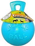 Jolly Pets Tug-N-Toss Jolly Pet Toy Ball, 8-Inch, Blueberry, My Pet Supplies