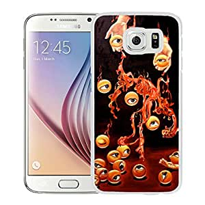 New Beautiful Custom Designed Cover Case For Samsung Galaxy S6 With The Hands Of The Eye (2) Phone Case