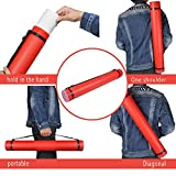 DEWEL Document Poster Tube with Clear ID Card