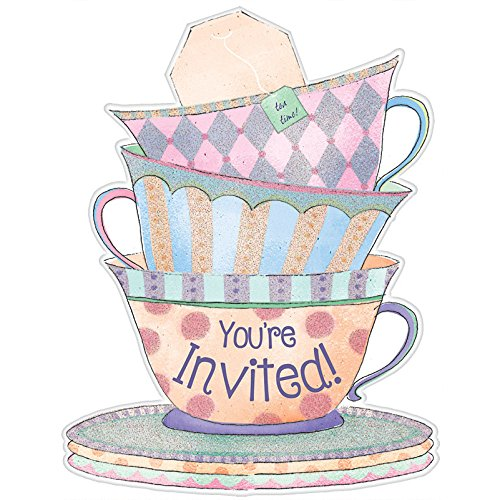 Amscan 490140 Invitations, One Size, Multicolor