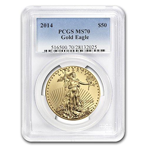 2014 1 oz Gold American Eagle MS-70 PCGS 1 OZ MS-70 PCGS