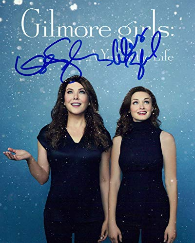 Gilmore Girls (Lauren Graham & Alexis Bledel) signed 8x10 photo
