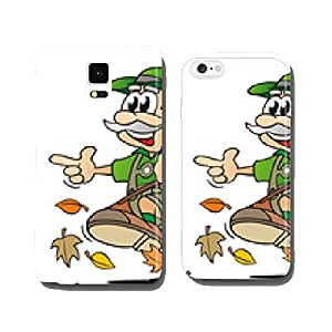 Hunter in Autumn cell phone cover case Samsung S6