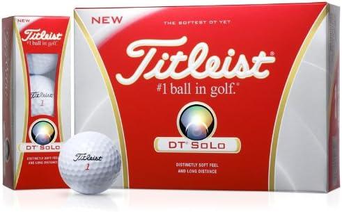 TITLEIST(タイトリスト) DT SOLO ボール T6022S-J 1ダース(12個入り) ホワイト