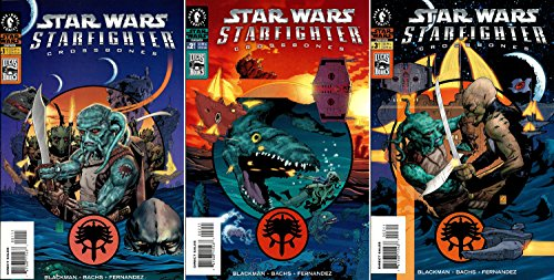 - Star Wars - Starfighter - Crossbones #1-3 Complete Limited Series (Dark Horse Comics 2002 - 3 Comics)