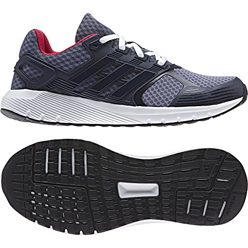 Adidas Duramo 8 W, Zapatos para Correr Mujer Azul (Super Purple /collegiate Navy/ftwr White)