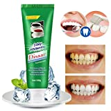 Enjocho 100g Activated Charcoal Teeth Whitening Toothpaste Natural Black Mint Flavor Herbal Oral Care Toothpastes 2018 Hot Sale (Green)