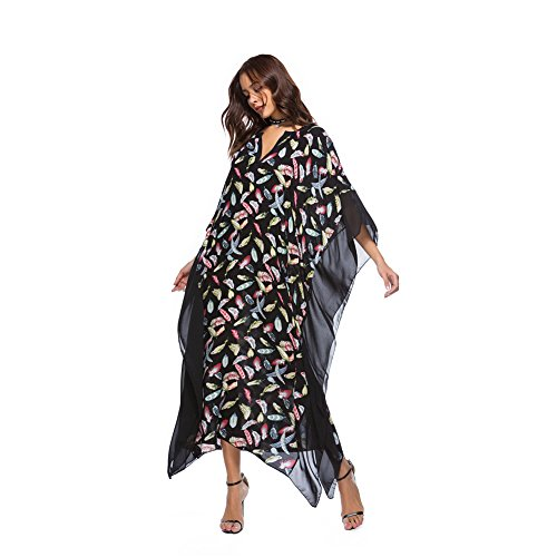 Costumi Cover Kimono xl Kaftan Boho Spiaggia Estate Vestito Hippie Lungo Tunica Swimsuit Donna Per Etnica Allentato Copricostume Taglia Mare S Bikini Abito Da Beachwear Bagno Up Color 22 Stampato vwxqAFcHcZ