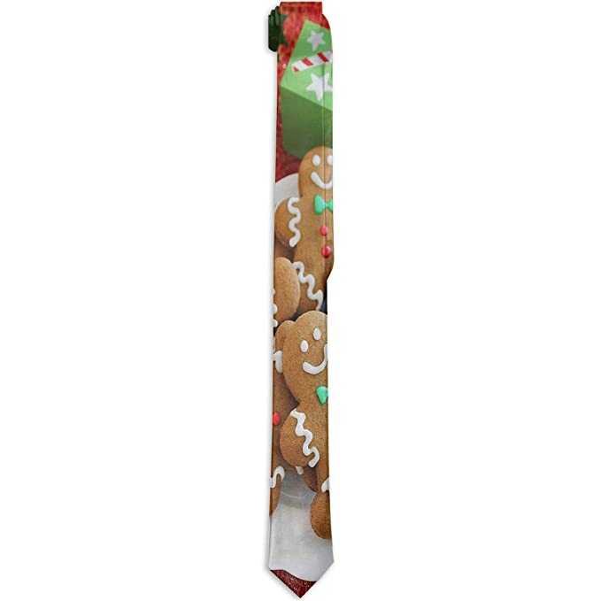 feb6a80bc0 Amazon.com: Mens Ties Christmas Cookie Neck Tie Fabulous Neckwear ...