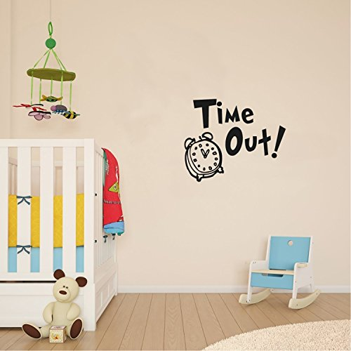 Vinyl Wall Art Decal - TIME Out Analog