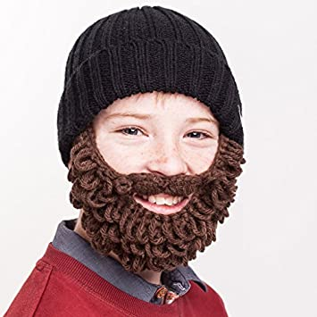 0bd05223374 Beardo Kids Lumberjack Beard Hat - Black Brown by Beardo  Amazon.co.uk   Sports   Outdoors