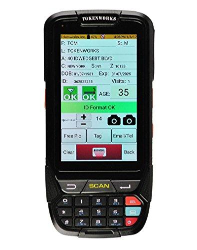 IDVisor Smart ID Scanner + All Software Upgrades & Charging Cradle by TokenWorks