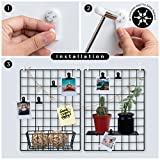 Wall Grid Wire Panels | Picture Organizer, Photo