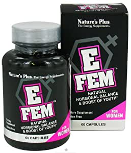 Nature's Plus E Fem For Women, Capsules 60 ea