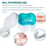 Denture Brush Retainer Case, Denture Case,Denture