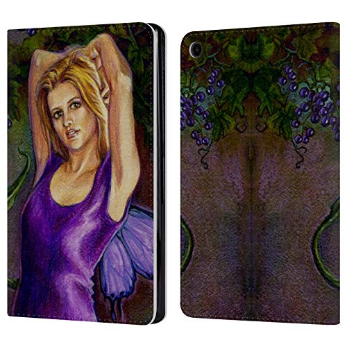 Leather Erin (Official Jane Starr Weils Erin Fairies 2 Leather Book Wallet Case Cover for Amazon Fire HD 8 (2017))