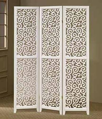 ASIA DIRECT Divisor de 3 Paneles, diseño de espirales, Color ...