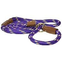 "Resbalón de plomo Mendota Products, 1/2 ""X 6 ', confeti púrpura, perros"