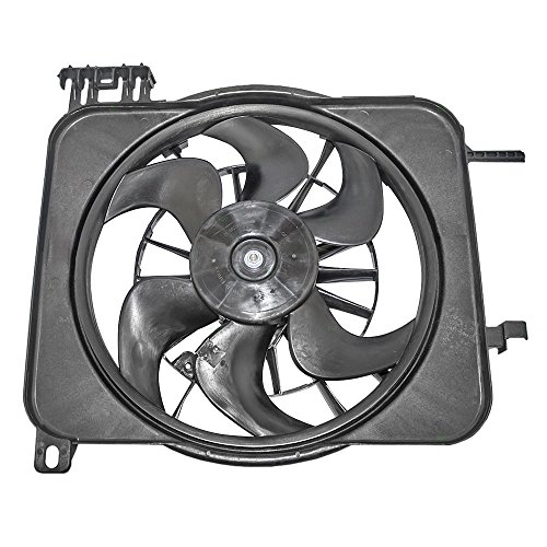 Chevrolet Cavalier Fan - Radiator Cooling Fan Motor Assembly 24Replacement for Chevrolet Cavalier Pontiac Sunfire 22136897