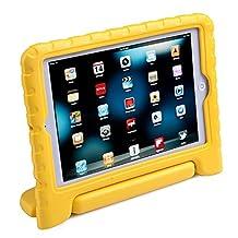 HDE iPad Mini Kids Case Shockproof Handle Stand Cover for Apple iPad Mini 2/3 Retina (Yellow)