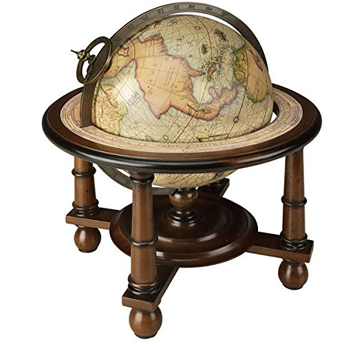 Navigator's Terrestrial Globe in Walnut by Authentic Models (Image #1)