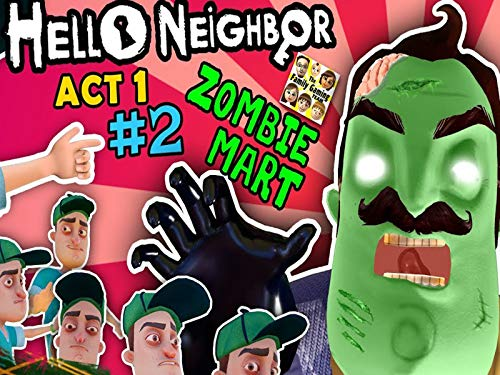 Fnaf Halloween Song (Hello Neighbor Act 1 Pt. 2: Zombie in the)