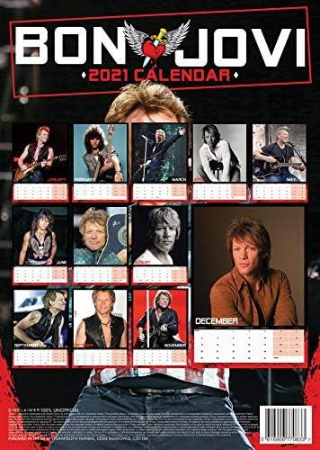 Bon Jovi 2021 Kalender A3