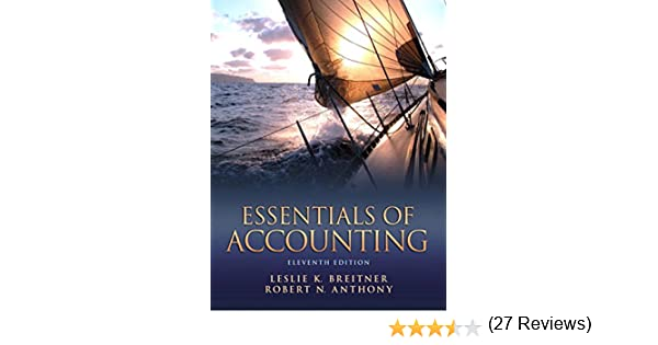 Amazon essentials of accounting ebook leslie k breitner amazon essentials of accounting ebook leslie k breitner robert n anthony kindle store fandeluxe Choice Image