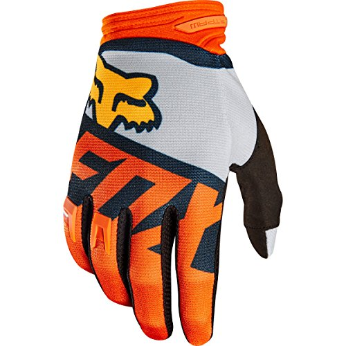 Dirtpaw Motorcycle Gloves (Fox Racing Dirtpaw Sayak Men's Off-Road Motorcycle Gloves - Orange/Small)