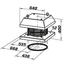 Techo Ventilador DALAP batron/400 V 450: Amazon.es: Bricolaje y herramientas