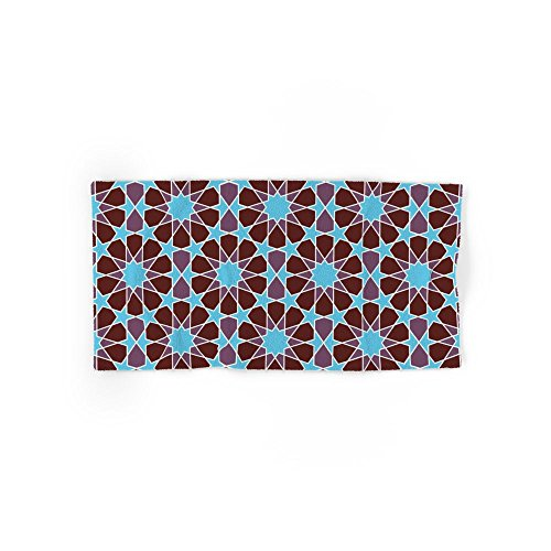 Society6 Islamic Geometric Pattern Set of 4 (2 hand towels, 2 bath towels) by Society6