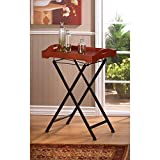 Table RUSTIC SPIRIT TRAY TABLES Trays Wood Metal Eat Breakfast Lunch