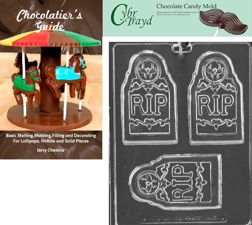 "Cybrtrayd ""Rip Tombstone Bar"" Halloween Chocolate Candy M..."