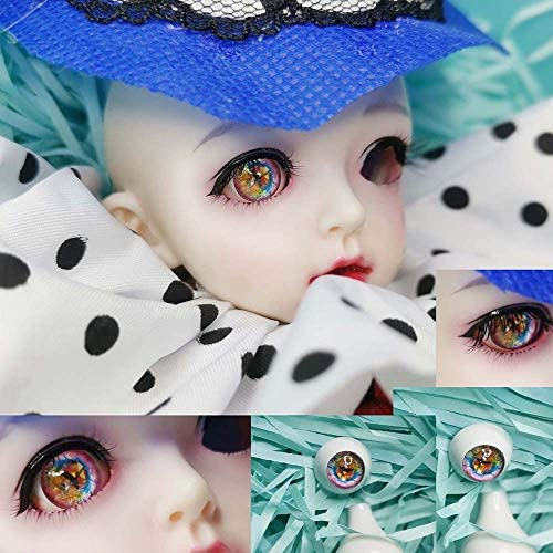 アリスの人形屋Bjd 目 8 ミリメートル 16 ミリメートル 18 ミリメートル 20 ミリメートル 14 ミリメートルピンクダイヤモンド人形目 Bjd EyesBJD 人形おもちゃ sd 眼球 1/3 1/4 1/6 人形アクリル目